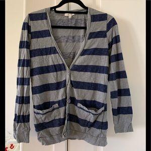 S striped I love H81 forever 21 boyfriend sweater